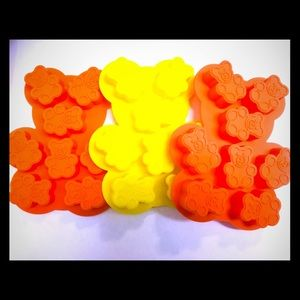 Other - Silicone Bear Mold 3 pcs